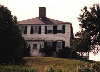[The house in Edgecomb, Maine]